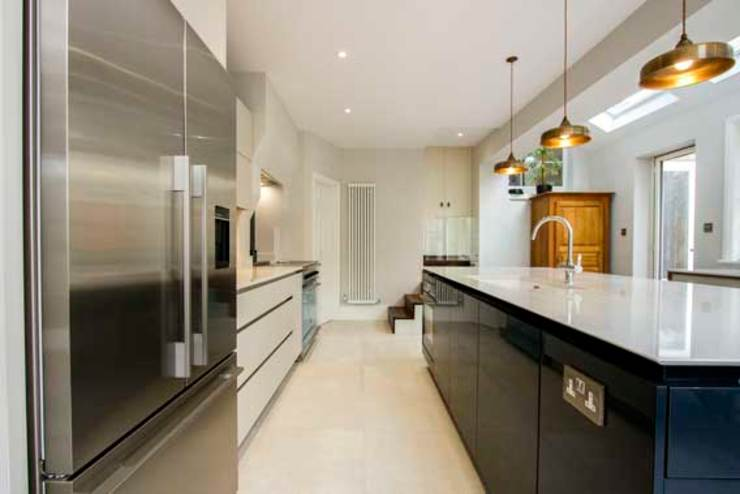 Kitchen Extension, East Molesey Cube Lofts Кухня