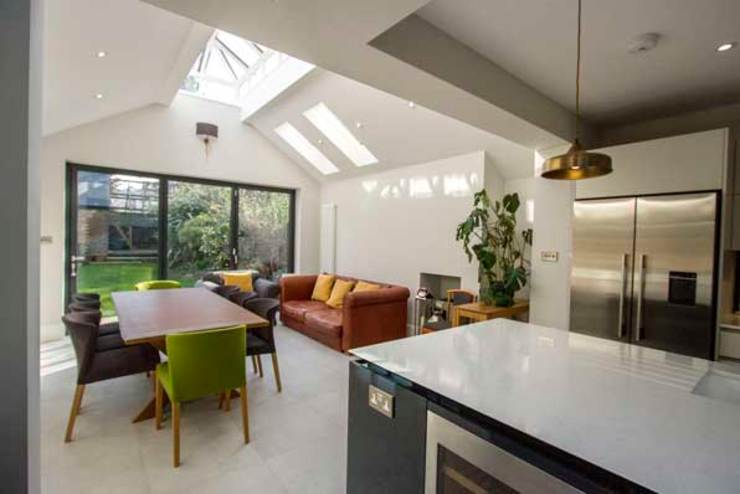 Kitchen Extension, East Molesey Cube Lofts Modern kitchen