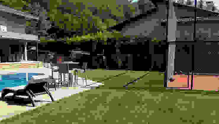 SAKLIKORU VİLLALARI- VİLLA PEYZAJ PROJE&UYGULAMA // SAKLIKORU – VILLA LANDSCAPE PROJECT Modern Bahçe AYTÜL TEMİZ LANDSCAPE DESIGN Modern