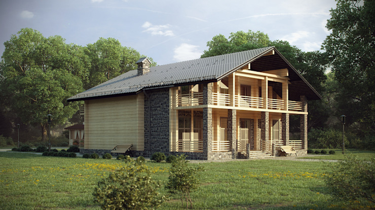 ARCHLINE ARCHITECTURE & DESIGN Classic style houses