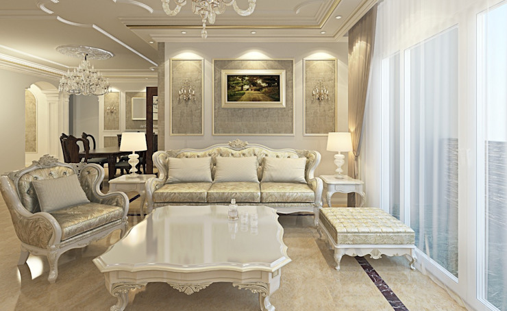 Living room by Boly Designs, Classic