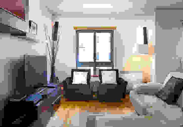 Sessão Fotográfica Imóvel para Venda Salas de estar modernas por Pedro Brás - Fotógrafo de Interiores e Arquitectura | Hotelaria | Alojamento Local | Imobiliárias Moderno