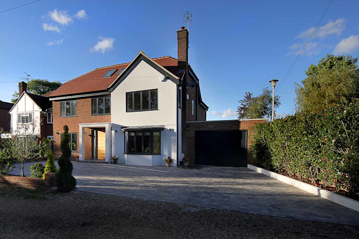 Hadley Wood – North London Casas modernas por New Images Architects Moderno