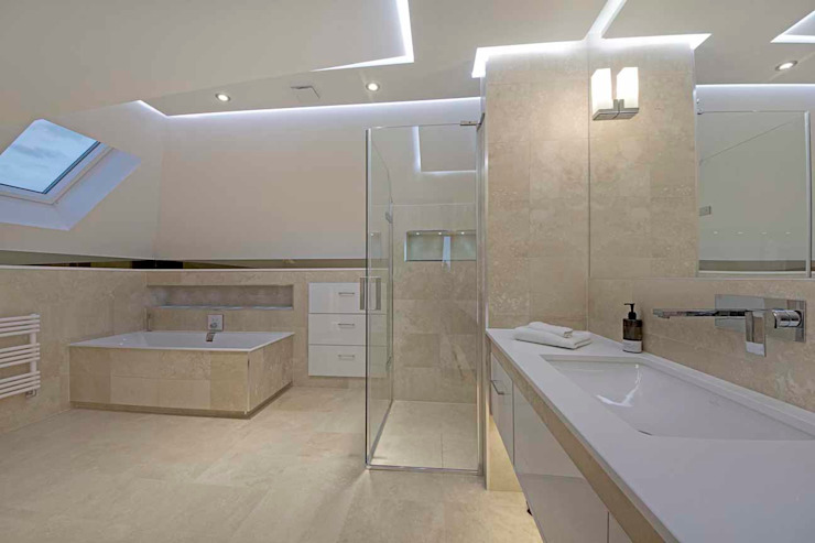 Hadley Wood - North London Modern Bathroom by New Images Architects Modern