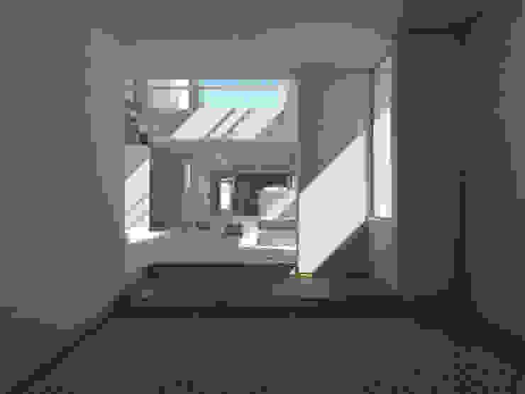 Estar / sala de tv Salones mediterráneos de 1.61 Arquitectos Mediterráneo