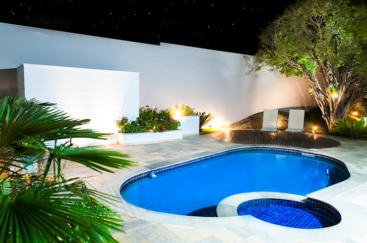 5 piscinas para casas peque as y modernas On albercas modernas pequenas