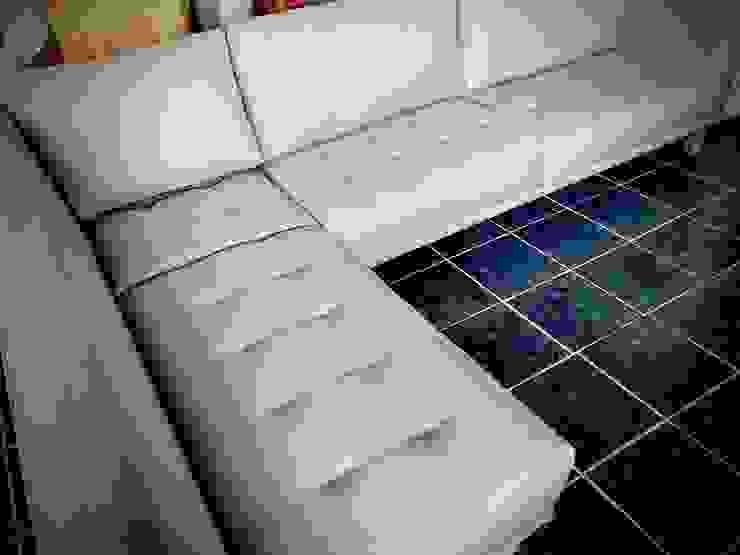 Sala en nuestro taller de fabricación Estilo en muebles SalasSalas y sillones Gris