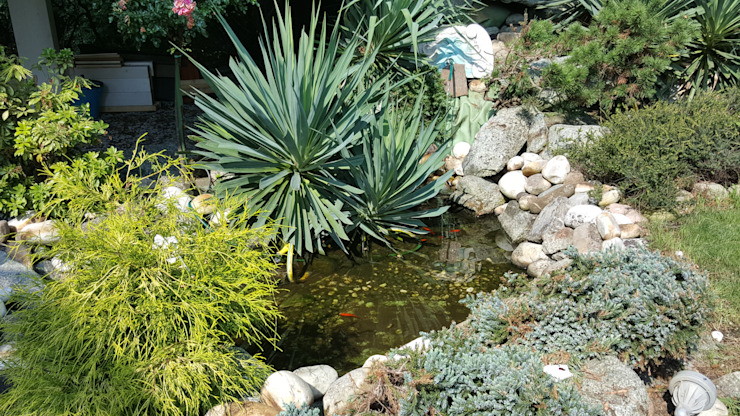 Jardins rústicos por MARA GAGLIARDI 'INTERIOR DESIGNER' Rústico