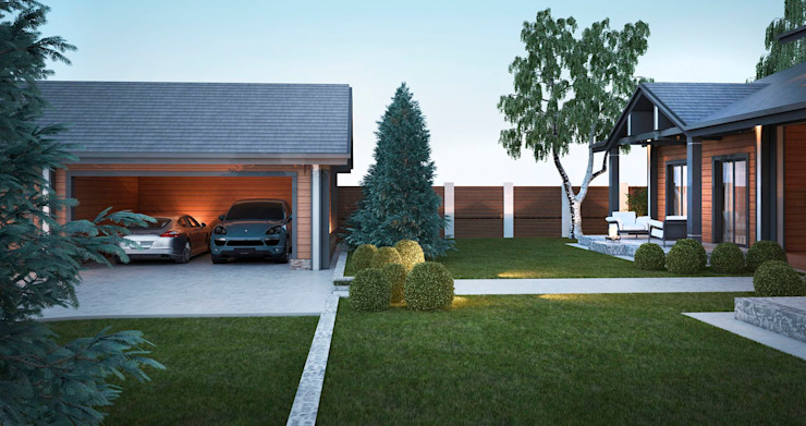 Garage & Schuppen von Way-Project Architecture & Design
