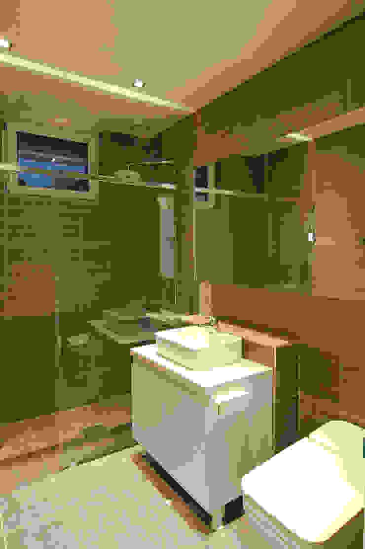 전주 농소마을 주택 모던스타일 욕실 by THE JK 모던