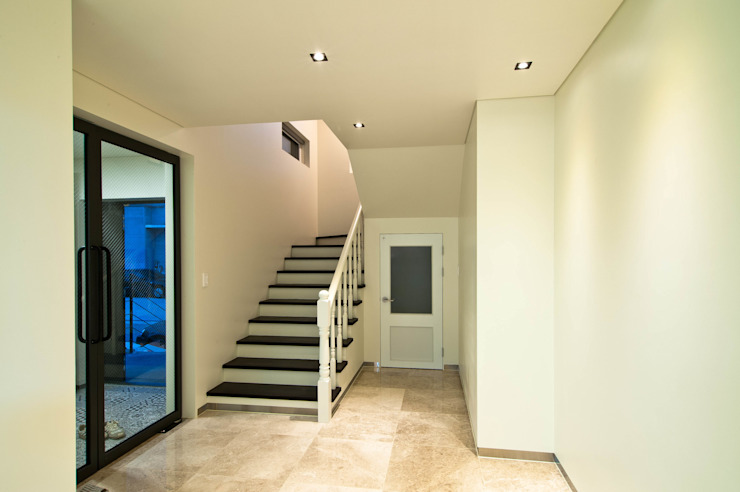 THE JK Modern corridor, hallway & stairs