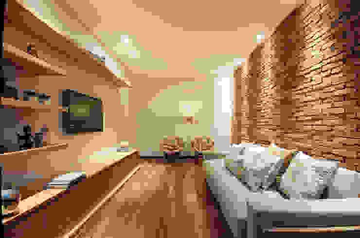 Ruang Media Modern Oleh Elisa Vasconcelos Arquitetura Interiores Modern