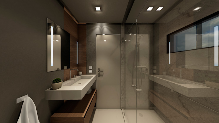 Modern bathroom by NOGARQ C.A. Modern