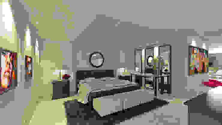 Dormitorios de estilo moderno de NOGARQ C.A. Moderno