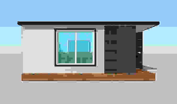 이동식 주택(6평형) by 주식회사 휴하우징