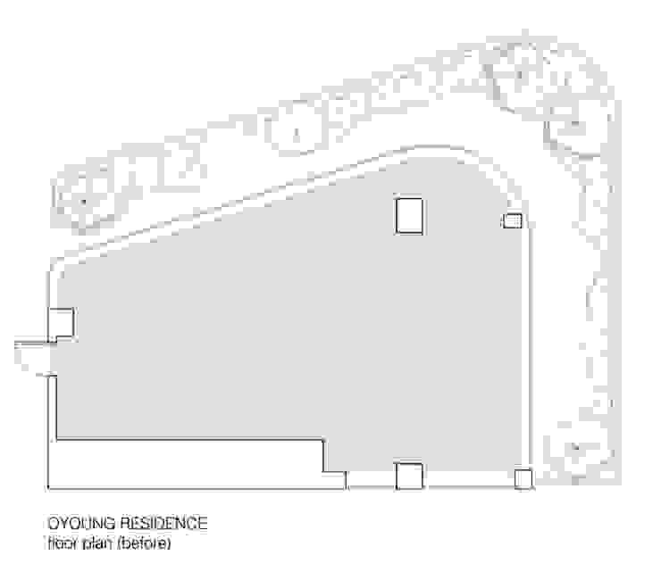 OYOUNG RESIDENCE: HJL STUDIO의 인더스트리얼 ,인더스트리얼