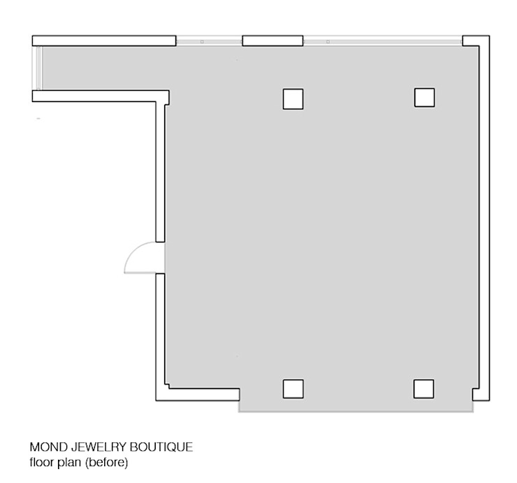 MOND JEWELRY BOUTIQUE: HJL STUDIO의 클래식 ,클래식