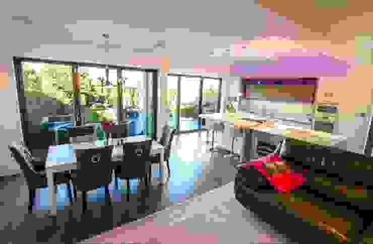 Kitchen Extension, Berrylands, Surrey Cube Lofts Modern dining room