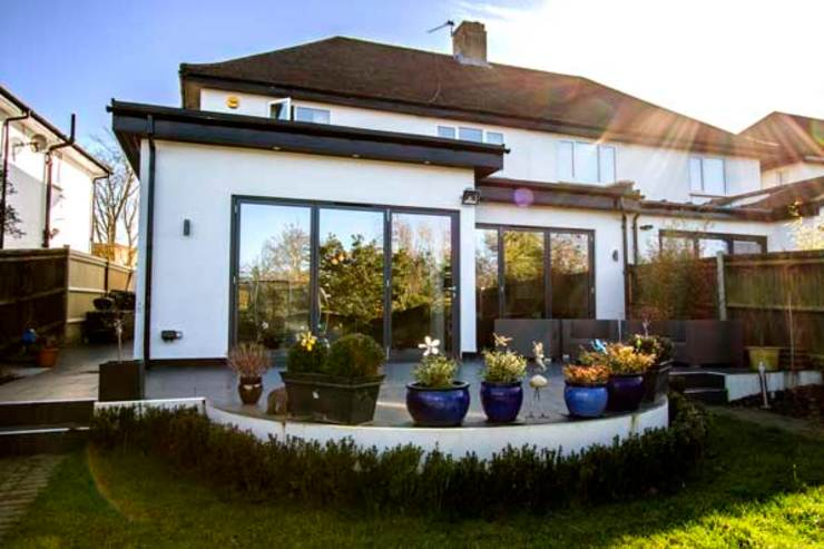 Kitchen Extension, Berrylands, Surrey Cube Lofts Modern houses