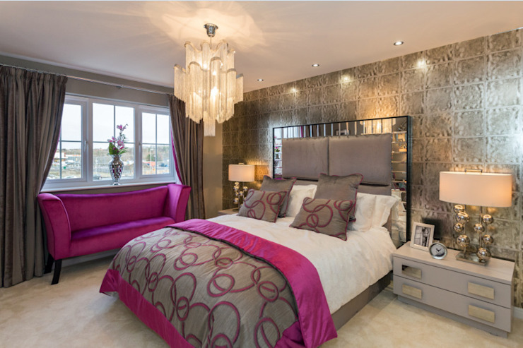 Statement Headboards Graeme Fuller Design Ltd Classic style bedroom