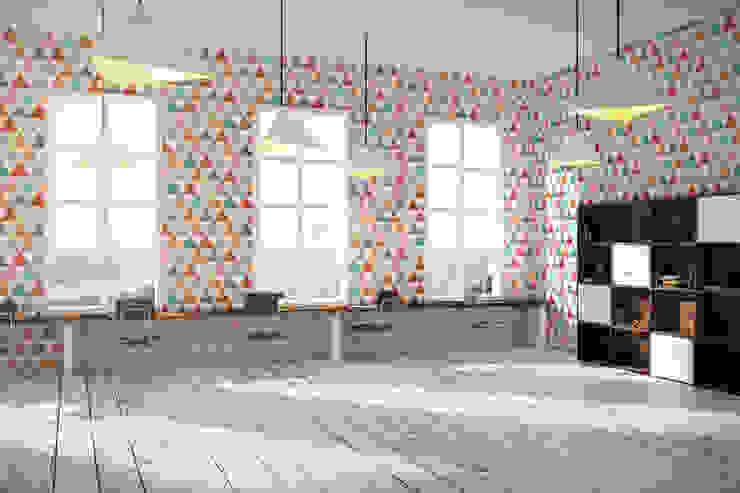 Hypnotized Triangles Moderne Wände & Böden von Pixers Modern