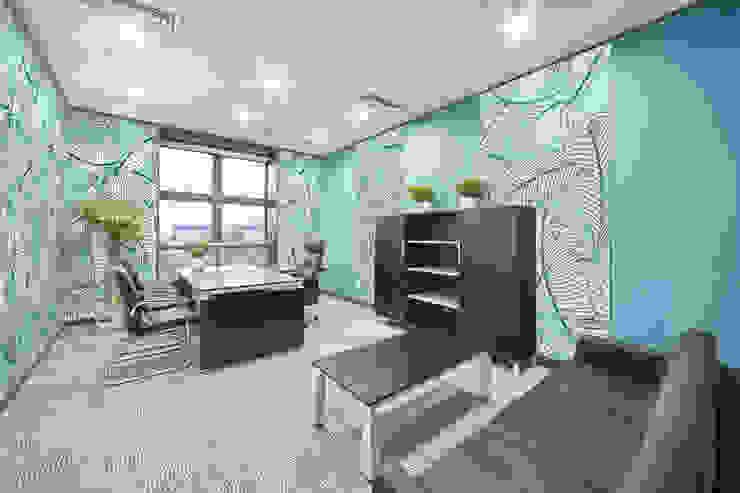 Tropical Office Tropische Arbeitszimmer von Pixers Tropisch
