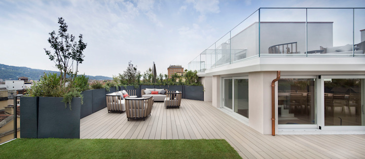 Patios & Decks by Déco, Modern Wood Wood effect