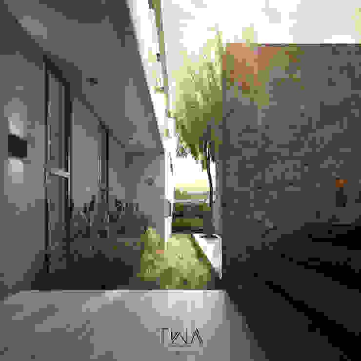 Acceso/Jardín frontal Jardines modernos de TW/A Architectural Group Moderno