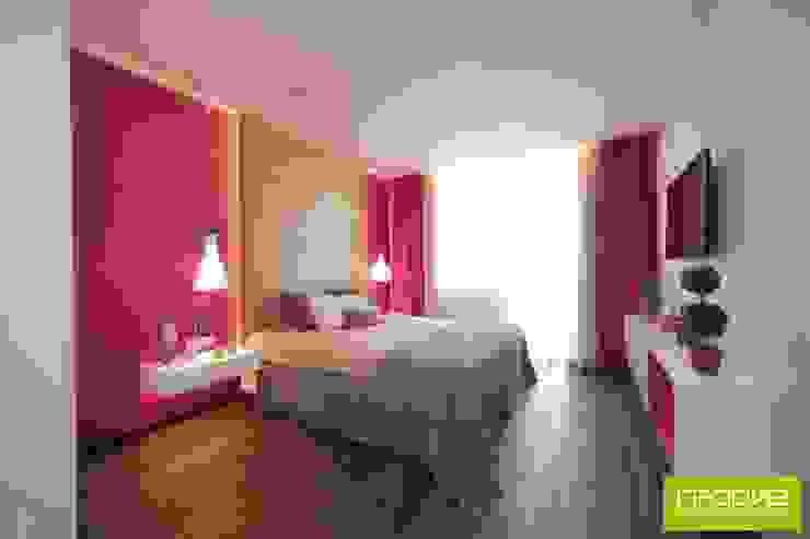 Шоколадный торт9 Спальня в стиле минимализм от Студия дизайна интерьера 'Градиз' Минимализм