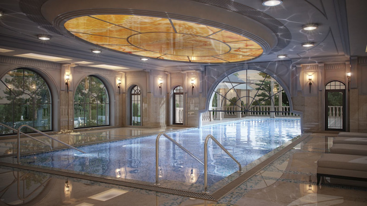 ARCHLINE ARCHITECTURE & DESIGN Klassische Pools