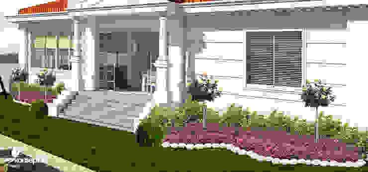 Ön bahçe konseptDE Peyzaj Fidancılık Tic. Ltd. Şti. Akdeniz