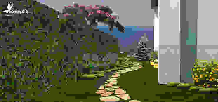 Üst bahçe konseptDE Peyzaj Fidancılık Tic. Ltd. Şti. Akdeniz