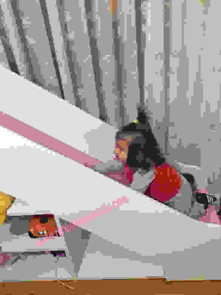 Ela'nın Odası, Kaydıraklı Ev Ranza Altı Montessori Yataklı Modern Çocuk Odası MOBİLYADA MODA Modern