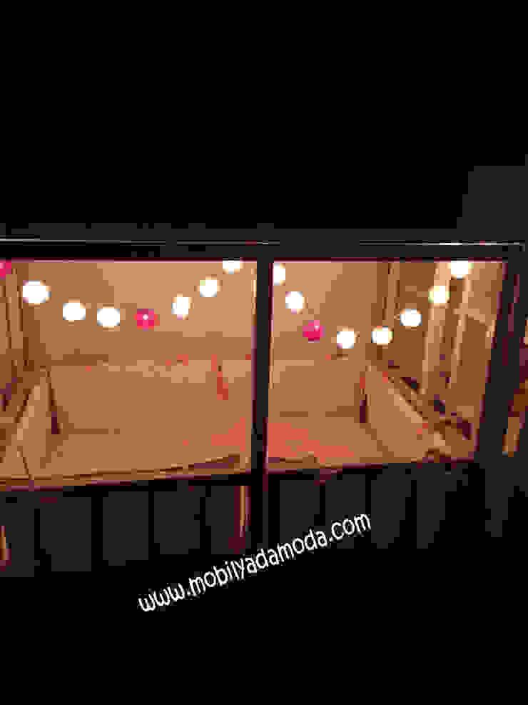 Ela'nın Odası, Kaydıraklı Ev Ranza Altı Montessori Yataklı Modern Çocuk Odası MOBİLYADA MODA Modern Ahşap Ahşap rengi