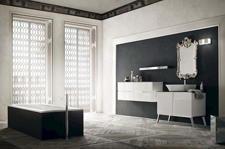 Elegant Bathroom 根據 Casa Più Arredamenti