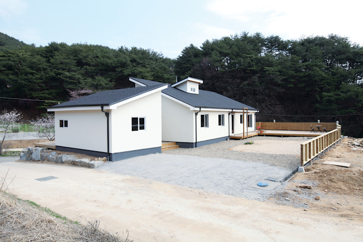 Scandihaus 모던스타일 주택 by 춘건축 모던