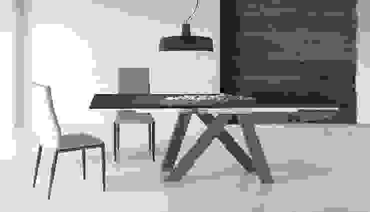 Mesas de refeições e cadeiras modernas Dining tables and modern chairs www.intense-mobiliario.com EERT I por Intense mobiliário e interiores; Moderno
