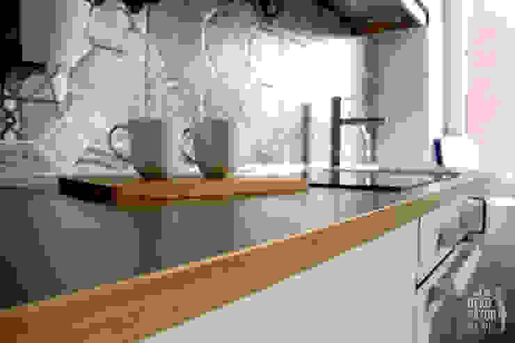 Skandinavische Küchen von dekoratorka.pl Skandinavisch