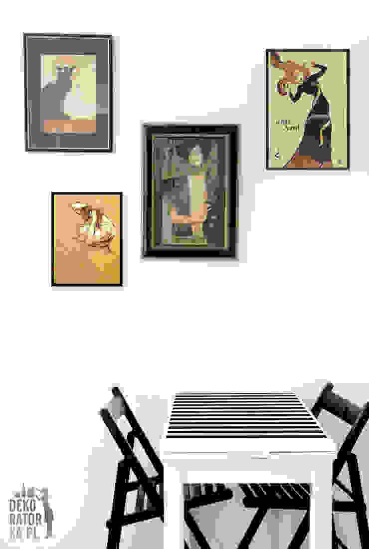Comedores de estilo escandinavo de dekoratorka.pl Escandinavo
