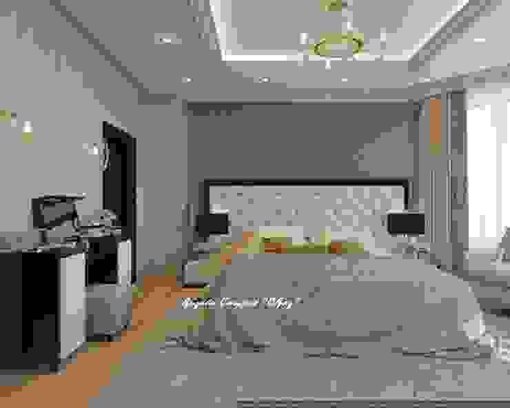 Элегантная спальня в светлых тонах от Дизайн Студия 'Образ' Классический