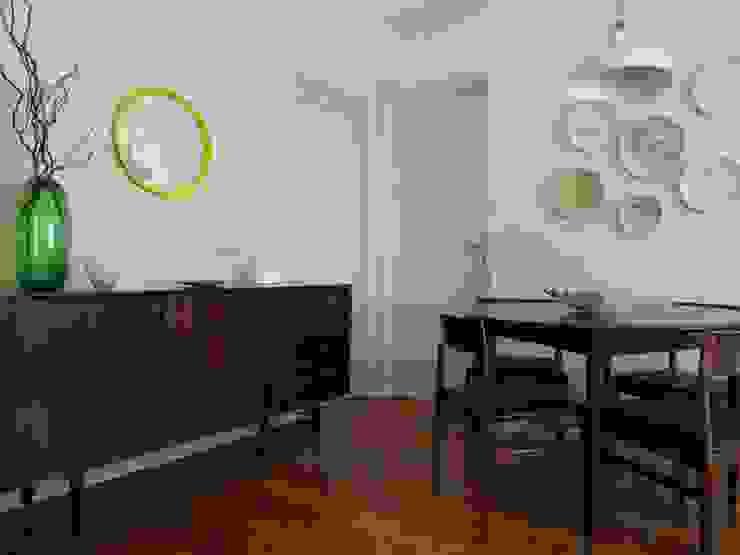 Paulo Alves do Nascimento - homify Sala da pranzo in stile rustico