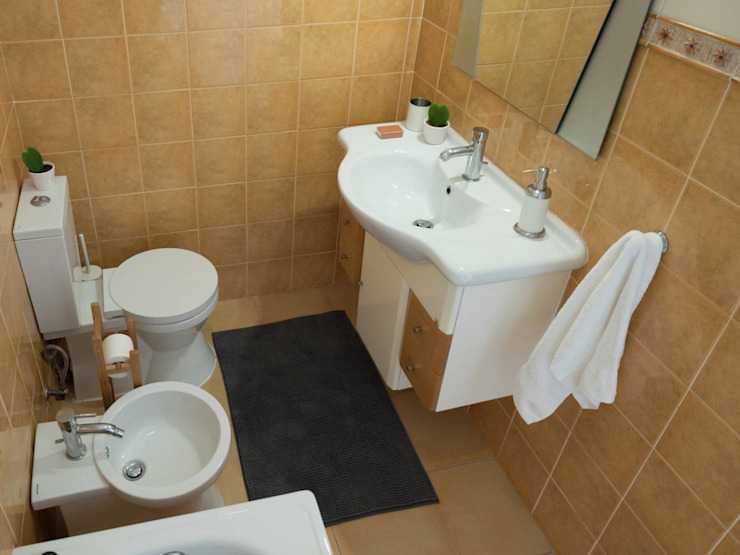 Paulo Alves do Nascimento - homify Rustic style bathroom