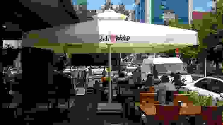 Cafe Şemsiyesi Akdeniz Bahçe Akaydın şemsiye Akdeniz Aluminyum/Çinko