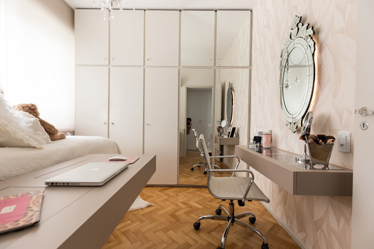 Scandinavian style bedroom by Kali Arquitetura Scandinavian