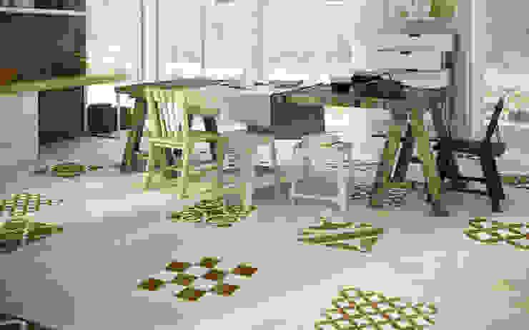 Stijlvolle ideeën met tegels voor de gehele woning Rustieke keukens van Sani-bouw Rustiek & Brocante Tegels