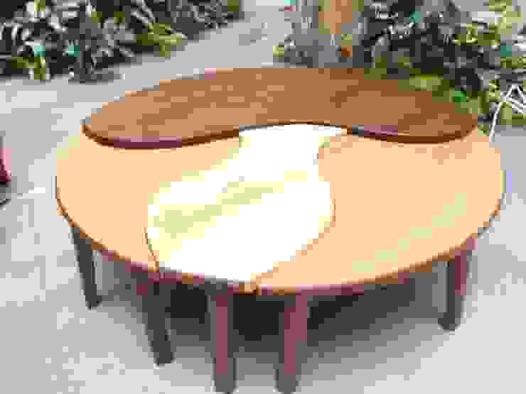 パズルテーブル の 二輪草家具