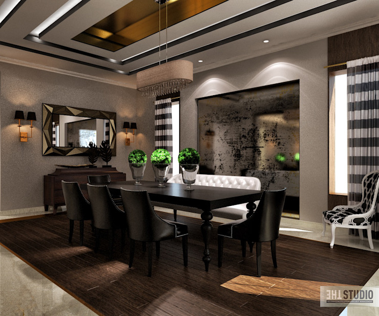 Lake View-Cairo homify Modern Dining Room