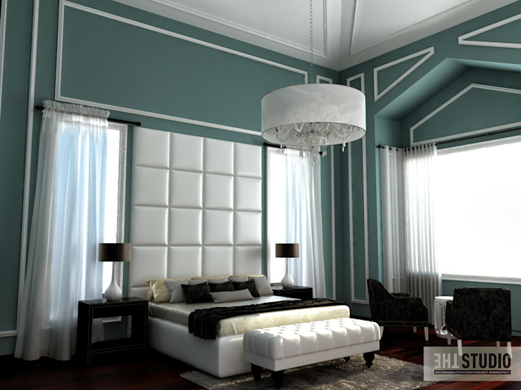 Lake View-Cairo homify Modern Bedroom