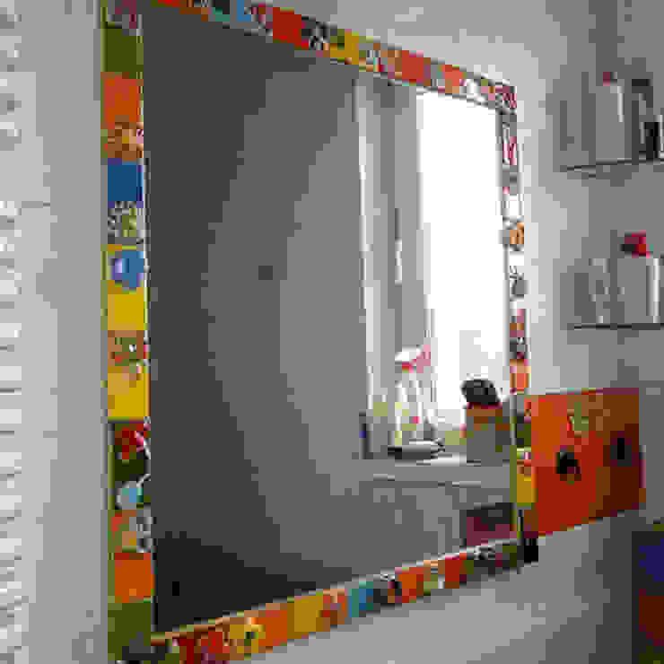 Dekory Nati Country style bathroom Ceramic Multicolored