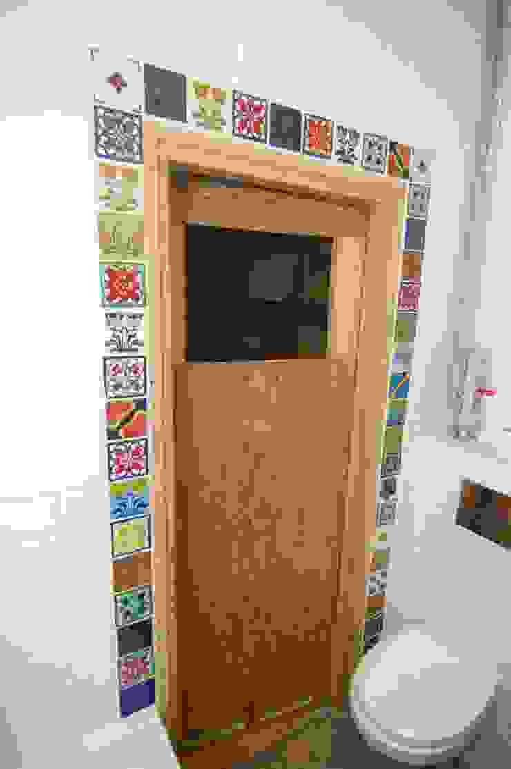 Dekory Nati Modern Windows and Doors Ceramic Multicolored